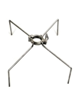 Double pin clamp with legs