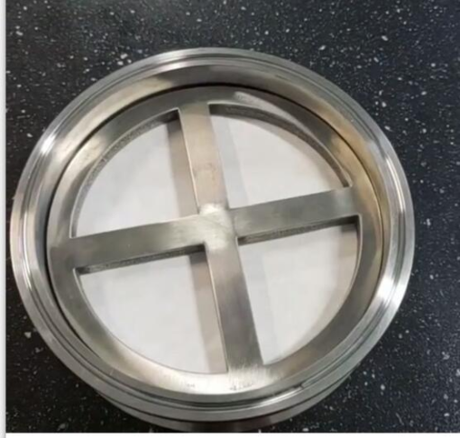 Filter plate with ring