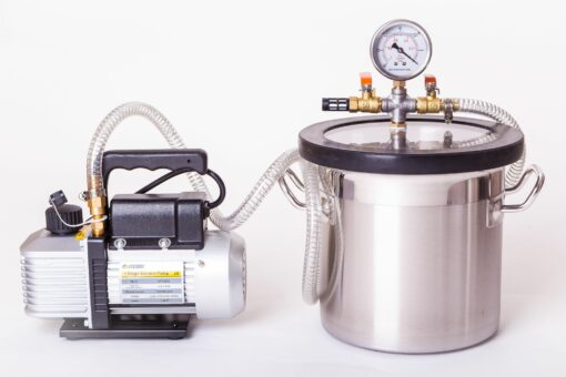 11L Vacuum Degassing Chamber Pump Kit